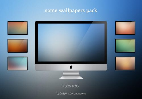 Some wallpapers pack by 0n1y0ne