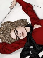 Dr. Harleen Quinzel Practice by BLOOD-and-LUST-87