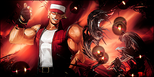 Terry Bogard by met99
