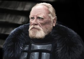 Jeor Mormont study by Andy-Butnariu