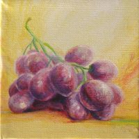 Grapes Doodle by mynti
