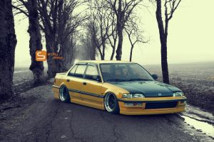 Honda Civic by SrCky