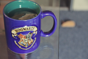 harry potter and tea by duhitsmia