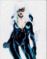 Black Cat, color by dtor91