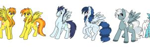 My Version of The Wonderbolts by TheWonderPuppet