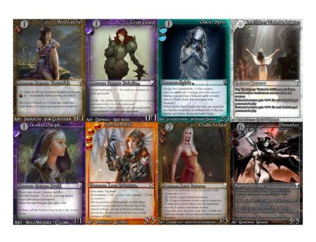 Another sampling of the cards that I make by kridxen