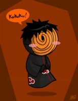 Somewhat evil Tobi by saurien