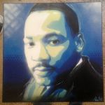 Martin Luther King Jr by GK2000