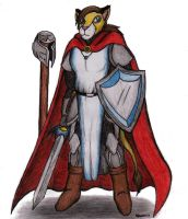 The Lion Paladin by Kiljunator