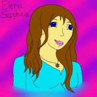 Elena Sapphiria holoform request by LoveableHothead