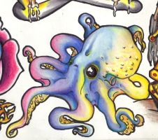 Mr. Octopus by InkyDinkyWho