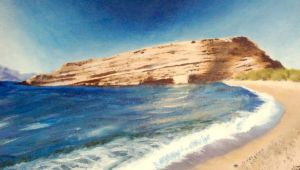 Matala Beach by Christa-S-Nelson