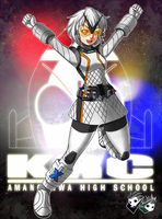 COMMISSION : Bishojo Rider Fourze by jadenkaiba