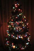 The Christmas tree in my room. by ArishkaRotanova