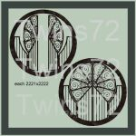 Twins72-Stocks-Round Gates-II by Twins72-Stocks