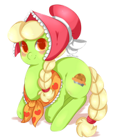 Young Granny Smith by Xeella