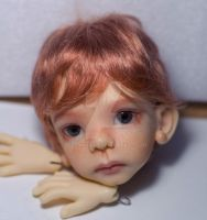 Kaze Kids Maurice 1 with face-up by me by OlesyaGavr
