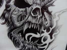 skull and some smoke RE-post by punkins