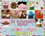 26 Cupcakes Icon Base Pack by lady-vicious