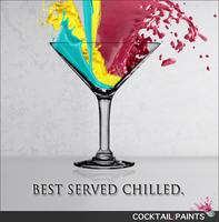 Cocktail Paints by swoboso