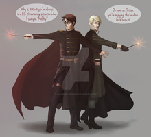 I don't need saving, Potter. by Isi-Angelwings
