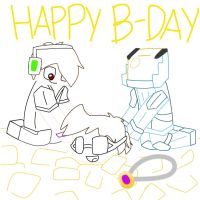 Happy bday sky :D by Gameaddict1234
