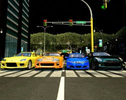 The Fast N Furious: Get Ready! Rev It Up by MichKon
