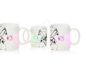 Cups-bubble mint by MargoIllustration