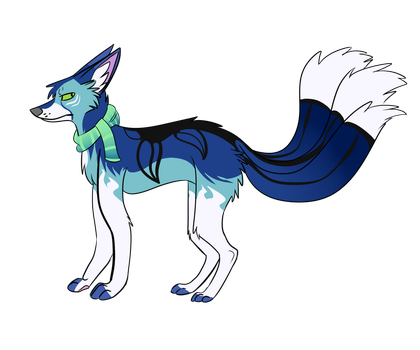 Kitsune auction (point adopt) [CLOSED] by YuniVulpes