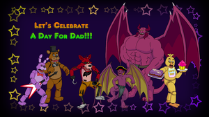 Primal Warrior Wallpaper - Father's Day @ Freddy's by BennytheBeast