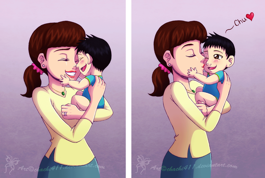 BH6 ~ New mommy by chachi411