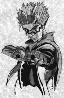 Trigun Freehand 01 by comatose-rose