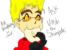 Ask Vash!!! by Delta-kitty