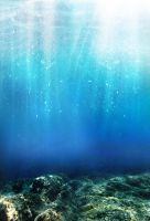 Underwater Stock - Premade Background by YaensArt