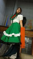 touhou project: okuu en Anime deluxe 2013 3 by sumomin