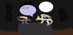 Zolt And Demon's Fight by Amuth89