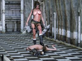 Wendy Croft's Battle Victory by Posereality4 by Wendy010
