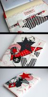 Petulant Patchwork sketchbook by tinkelstein