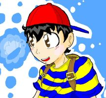 Ness :AT: by WolfyTails