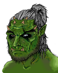 Orc by Atakamiwolf