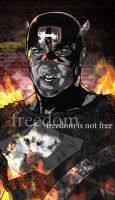 Captain America: Freedom is Not Free (Gray) by BrentJS