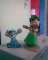 Figura Lilo y Stitch by IMArellano