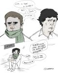 Sherlock: Scarf Fetish. by superfizz