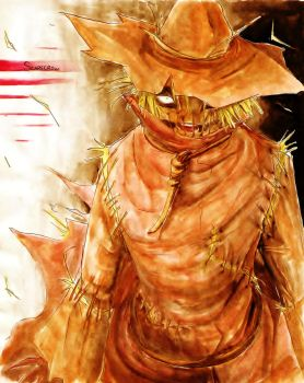 The Scarecrow by Waterwindow