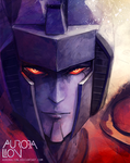 Starscream by AuroraLion