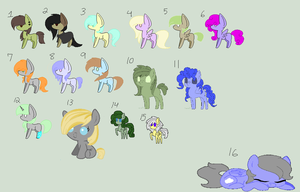 MLP Adopts half priced :open: by Nomatyzer