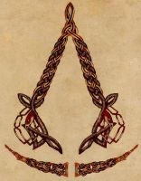 Assassin's Creed Celtic Crest1 by WarriorofDestiny