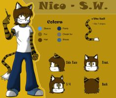 NicoSW the Tiger Reference by Nicolas-SW