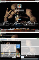 MSN 8.5 Tupac by AndyClaro
