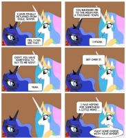MLP Comic #6.  Celestia is not real sympathetic. by coop1616